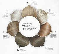 7 NEW COOL TONE COLORS IN THE FOLLOWING STYLES
