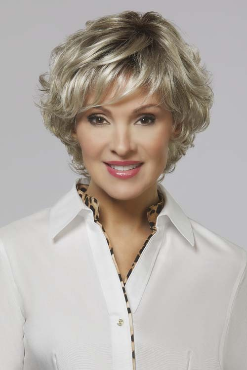 Lindsay_Front, Henry Margu Collection, Henry Margu Wigs, Color shown is 10/613/GR