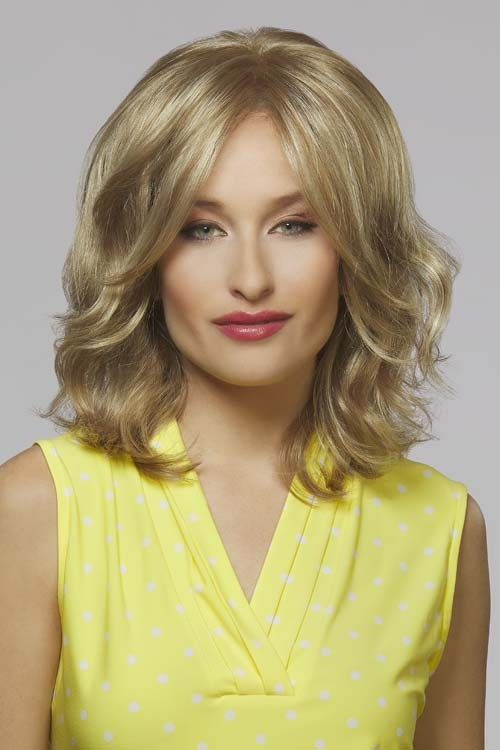 Kenddall_Front, Naturally Yours Collecton by Henry Margu Wigs, Color Shown is 14H