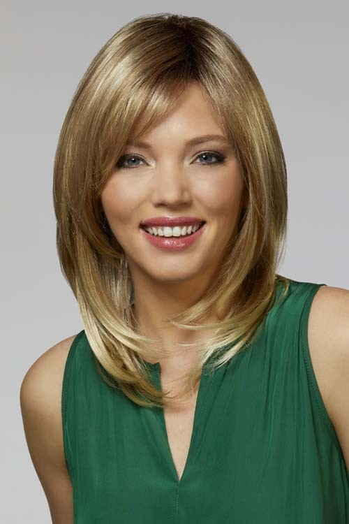Taylor_Front, Naturally Yours Collection by Henry Margu Wigs, Color shown is 88GR