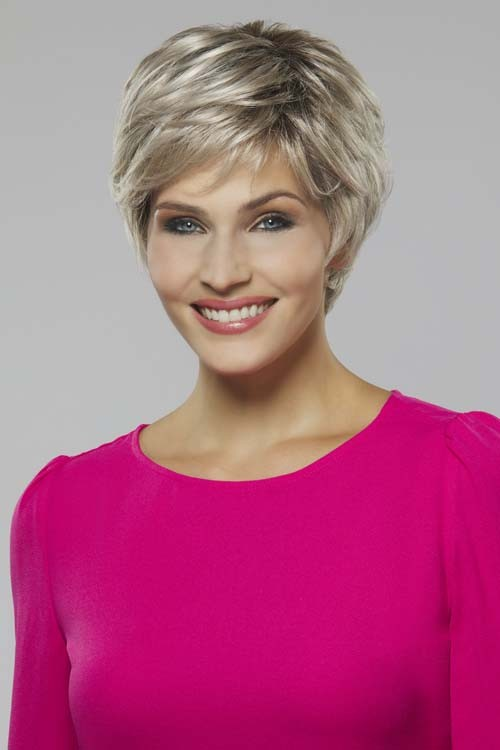 Iris_Front, Naturally Yours Collection by Henry Margu Wigs, Color Shown is 60/101GR