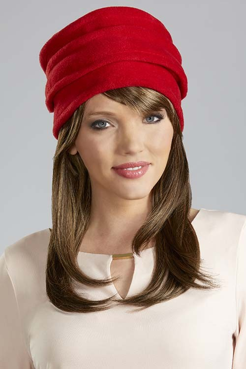 Halo Long_Front, Hair Accents by Henry Margu Wigs, Color shown is 7H