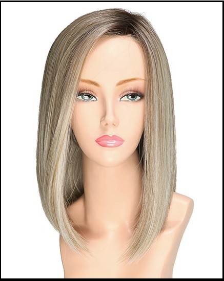 Alpha Blend_Front, Cafe Collection by Belle Tress Wigs, Color Shown is Beer Butter Blonde
