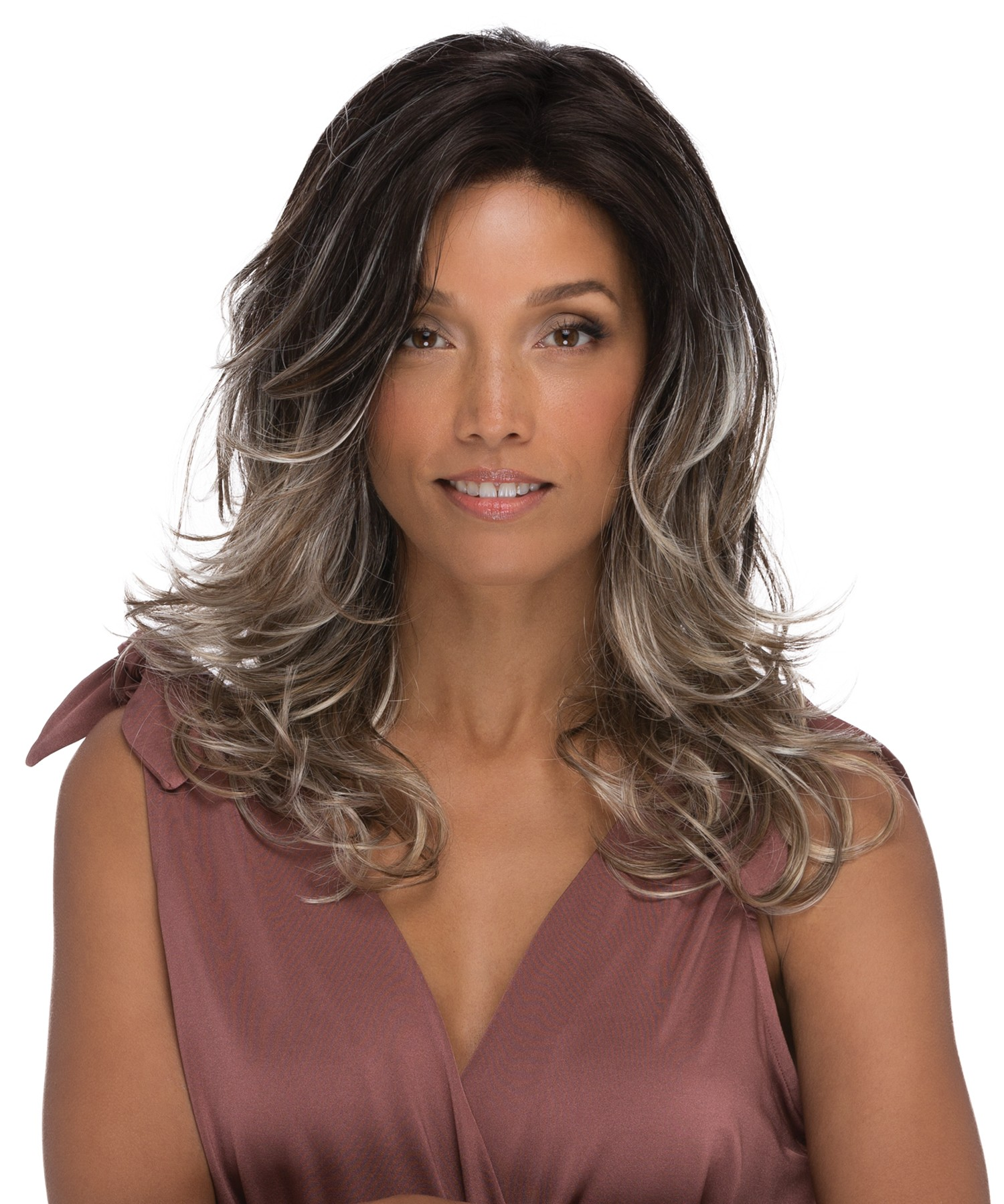 Orchid_Front alt-2, Natural Collection by Estetica Designs, Color Shown is Americano