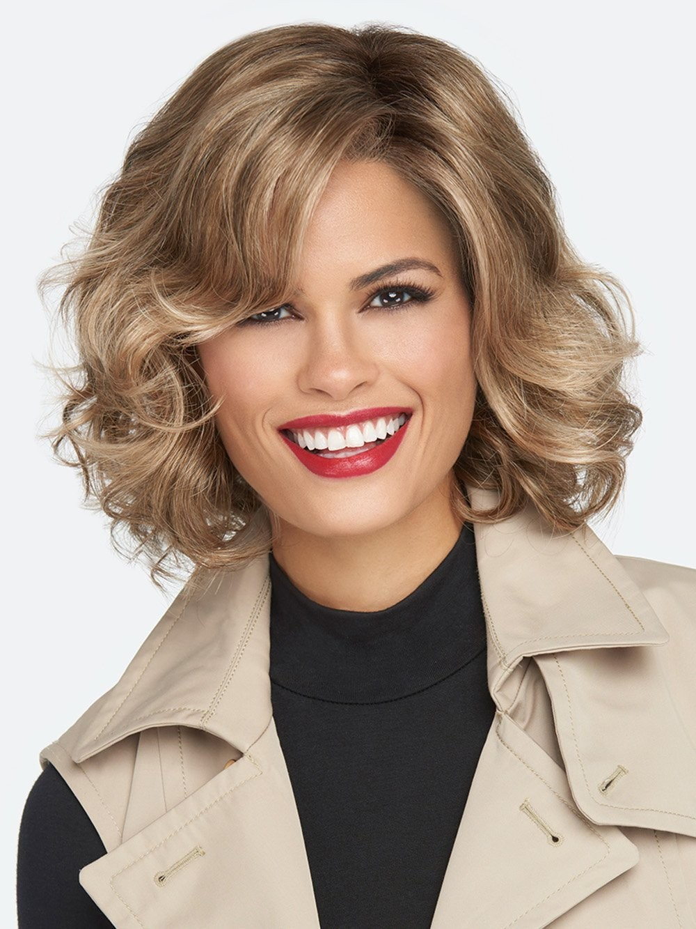 Brave The Wave_lace front, Sheer indulgence collection, Raquel Welch Wigs – color shown SS15-24 Champagne