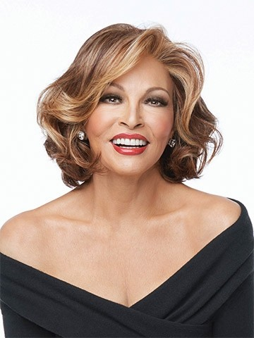 Crowd Pleaser_front,Sheer Indulgence Collection,Raquel Welch Wigs (color shown is RL31/29)