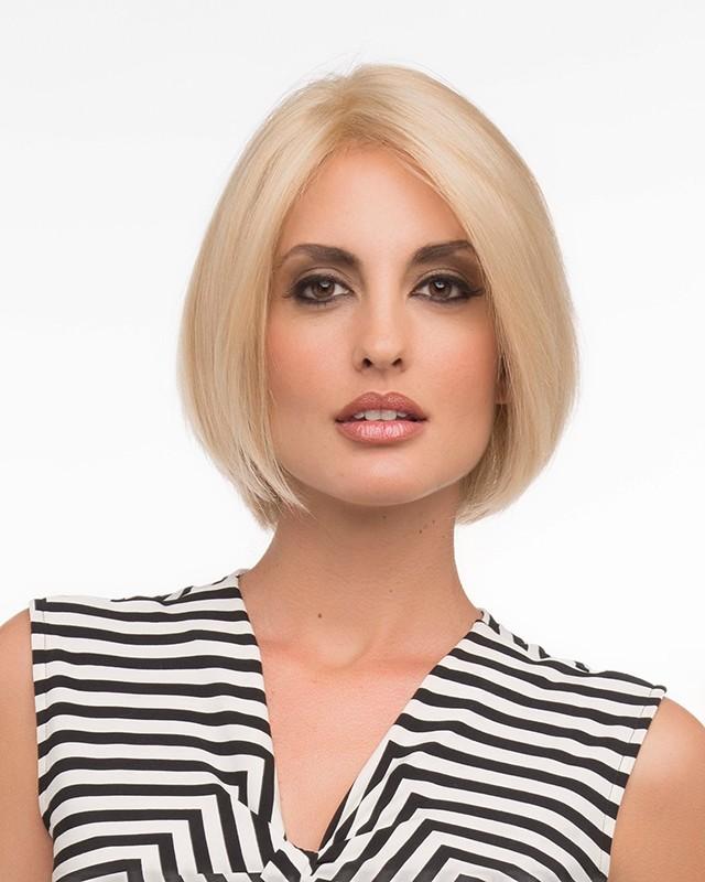 Amelia_front,Human Hair,Envy Wigs (color shown is Medium Blonde)