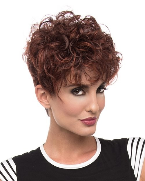 Kaitlyn_front,Open Top Collection,Envy Wigs (color shown is Dark Red)