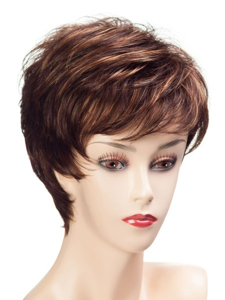 Petite Zoe_front,Ultimate Fit Collection,Tony of Beverly Wigs (color shown is Cognac)