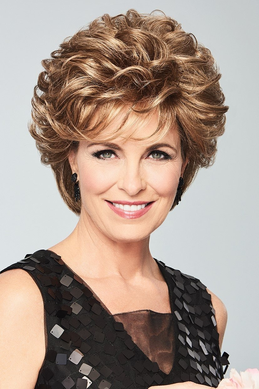 Dream Do_Front, Gabor Wigs Luxury Collection, Color Shown: GL14-16 Honey Toast