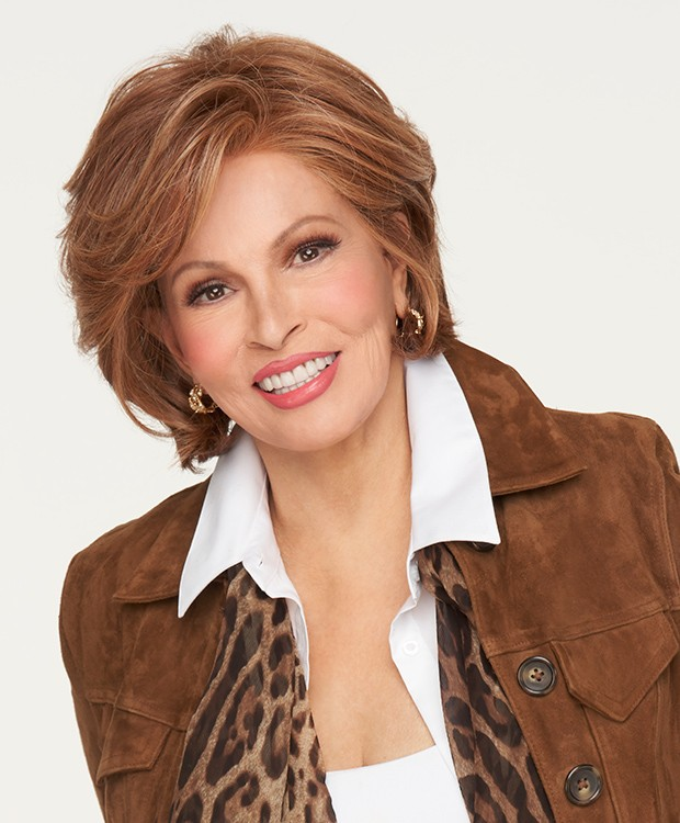 In Charge_Front, Sheer Indulgence Collection by Raquel Welch, Color shown is  RL29/25 Golden Russet