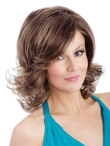 Viola_front,Ultimate Fit Collection,Tony of Beverly Wigs (color shown is Golden Brown)