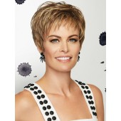 Virtue_front, Essentials Collection by Gabor Wigs, color shown is Brown Blonde