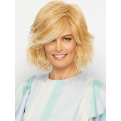 Visionary_front, Essentials Collection by Gabor Wigs, Color shown is Medium Blonde