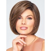 Let's Rendezvous_Front, Sheer Indulgence Collection by Raquel Welch, Color shown is RL8/12SS Shaded Iced Mocha