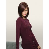 Hailey_front,Noriko Collection,ROP Wigs (color shown is Garnet Glaze)