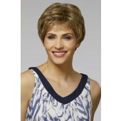 Monica_front,Naturally Yours Collection,Henry Margu Wigs (color shown is 12H)