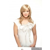 Mono Medium Top Piece_front,Amore Collection,Rene of Paris Wigs (color shown is Gold Blond)