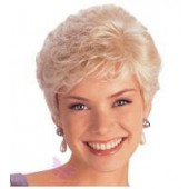 Petite Carla_front,Monosystem,Louis Ferre,Color shown is Platinum Blond