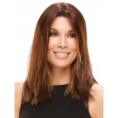 """Easipart HD 18""""_front,Synthetic Heat Defiant Hair Addition,Jon Renau Wigs (color shown is #6)"""