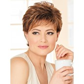 Shap up_Front, Personal Fit Collection by Eva Gabor Wigs, Color Shown: GL8-29SS SS Hazelnut
