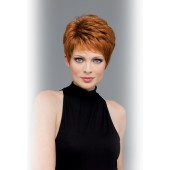 Heather_front,envyhair synthetic and human hair,Envy Wigs(color shown is lighter red)