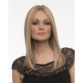 Sophia_front,Human Hair,Envy Wigs (color shown is Dark Blonde)