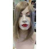 "Top Form 12"" (EXCLUSIVE)_real front view,Human Hair Addition Collection,Jon Renau Wigs"