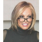 Play It Straight_front,Sheer Indulgence Collection,Raquel Welch Wigs (color shown is R29S+)