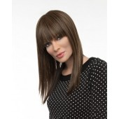 Taryn_front,Envyhair Mono Top Hand Tied Collection,Envy Wigs (color shown is Dark Brown)