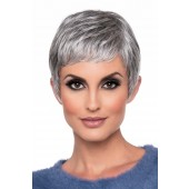 Fiona_Front, Envyhair Collection by Envy Wigs, Color shown is Med Gray