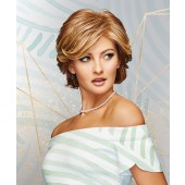 Integrity_Front, Gabor Essentials Wig Collection, Eva Gabor Wigs, Color Shown is Light Red