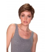 Jackie Mono, Front, Classic Collection by Belle Tress Wigs, color shown is Marble Brown