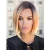 Kai_Front, Hi-Fashion Lace Front by Rene of Paris, Color shown is Melted Sunset