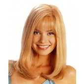 Amber_front,Human Hair Precious Gem,Louis Ferre,Color shown is Gold Blond