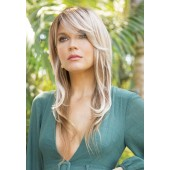 Malibu hair Enhancement_Front, Noriko Collection by Rene of Paris wigs, Color shown is Melted Marshmallow