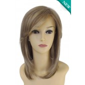 Mono Wiglet 413-MP_front,Hair Piece Collection,Estetica Wigs (color shown is R12/26CH)