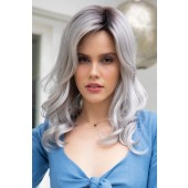 Ensley_Front, Orchid Collection by Rene of Paris Wigs, Color shown is Moonstone