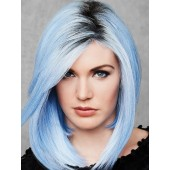 Out of the Blue_Front, Hairdo Collection, Color shown is Blue with Roots