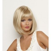 Petite Paige_front,Mono part collection,Envy wigs,Color shown is Light Blonde