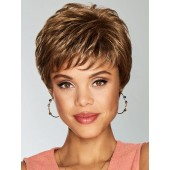 Serving Style_Front, Gabor Collection by Hairuwear Wigs, Color Shown is GL8-29 Hazelnut