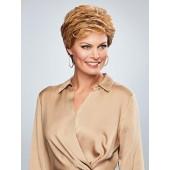 Honesty_Front, Gabor Essentials Collection by Eva Gabor Wigs, Color shown is Dark Blonde