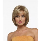 Sheila_front,open top collection,Envy wigs,Color shown is Dark Blonde