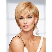 Success Story_front,Human Hair Collection,Raquel Welch Wigs (color shown is R14/25)