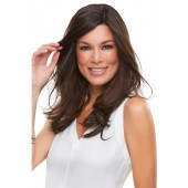 """Top Smart 18""""_Front, Synthetic Topper Collection by Jon Renau, Color shown is 6"""