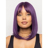 Mod Sleek_Front, Muse Series Collection by Rene of Paris, Color Shown is Grape Burst