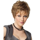 Upper Cut_front,next luxury,Gabor Wigs,color shown is GL14/16